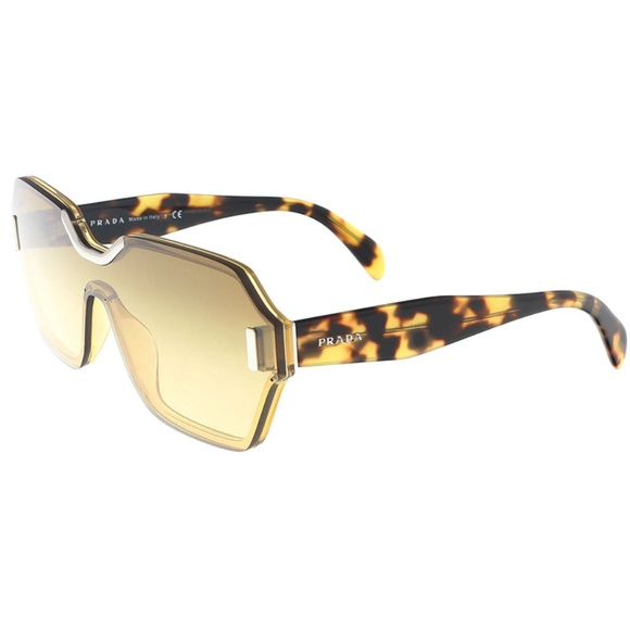 dcb0fc96fe3 Prada Sunglasses Light Yellow w Yellow Lens